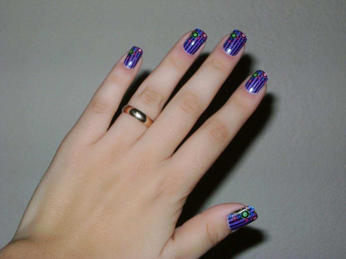 Pel culas de silicone na decora o das unhas hiper feminina for Decor unhas