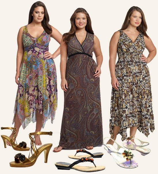 Vestidos Para Gordinhas Charme E Glamour