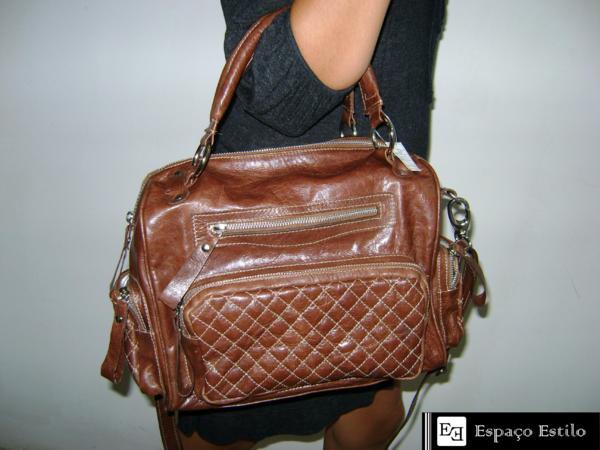 Bolsa Feminina Couro : Bolsa de couro feminina moda e qualidade modelos