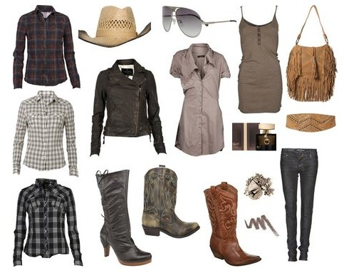 moda countrry feminina