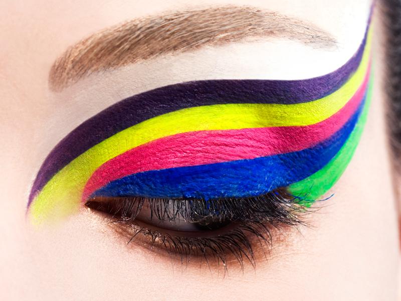 Extremamente Sombra Neon E Moda: As Cores Estão Com Tudo - Dicas e Fotos  LY99