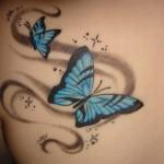 Tatuagens Femininas – Borboletas