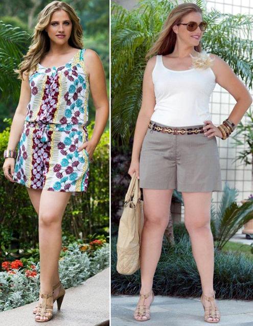 25ffa3cbd Estilo Fashion Moda Plus Size Moda Jovem