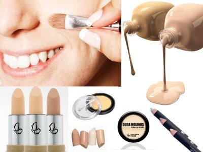 Tipos De Corretivo Facial: Texturas E Cores