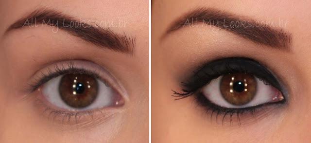 Como Aumentar Ou Diminuir Os Olhos Com Maquiagem